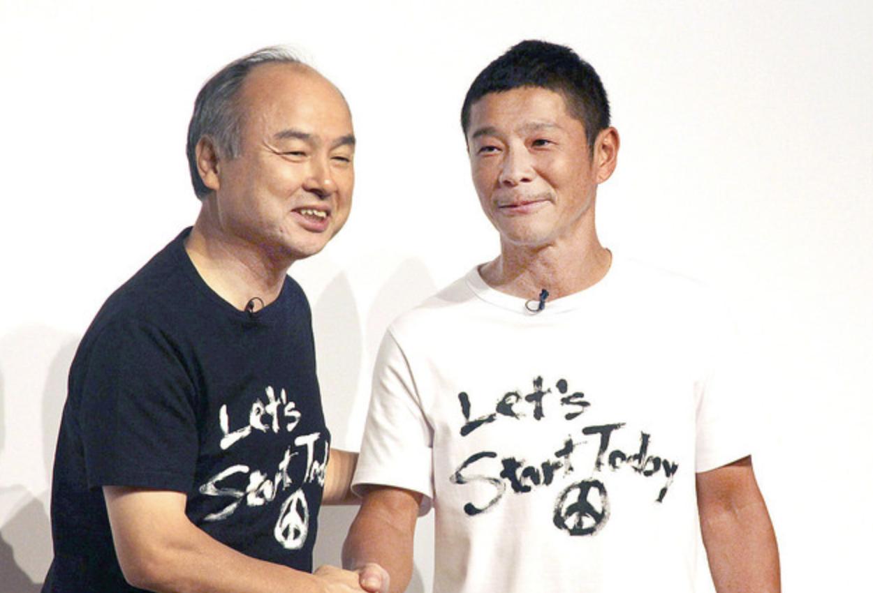 前澤社長の会見Tシャツのブランドと値段は?通販や再販も調査!