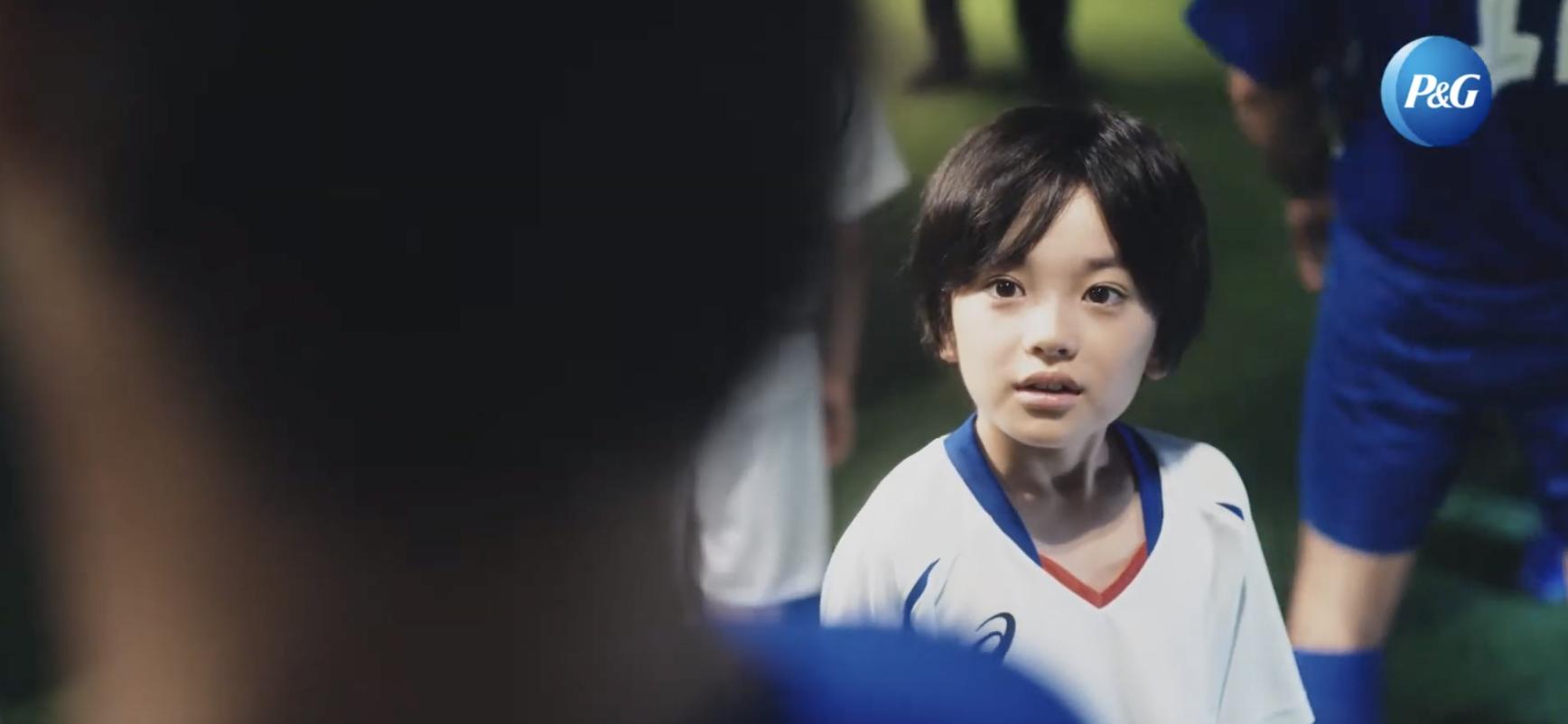 東京2020エスコートキッズCMの男の子は誰?P&Gで松岡修造と共演する子役を調査!
